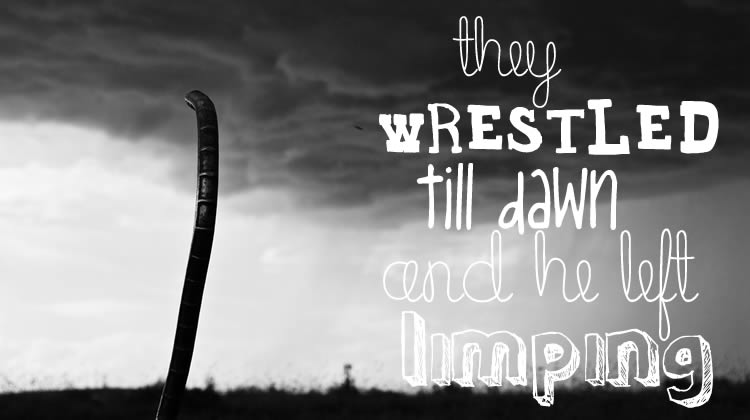 they wrestled till dawn and he left limping (photo Jeff Ruane, Creative Commons)